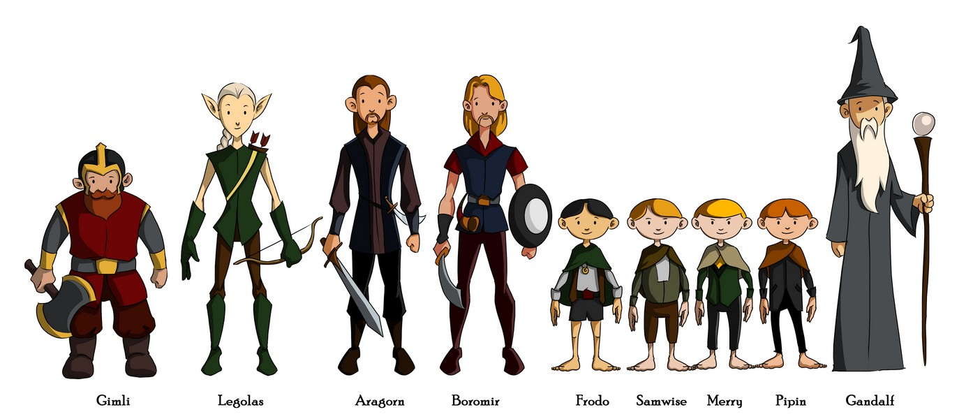 Lord of the Rings - The Heroes